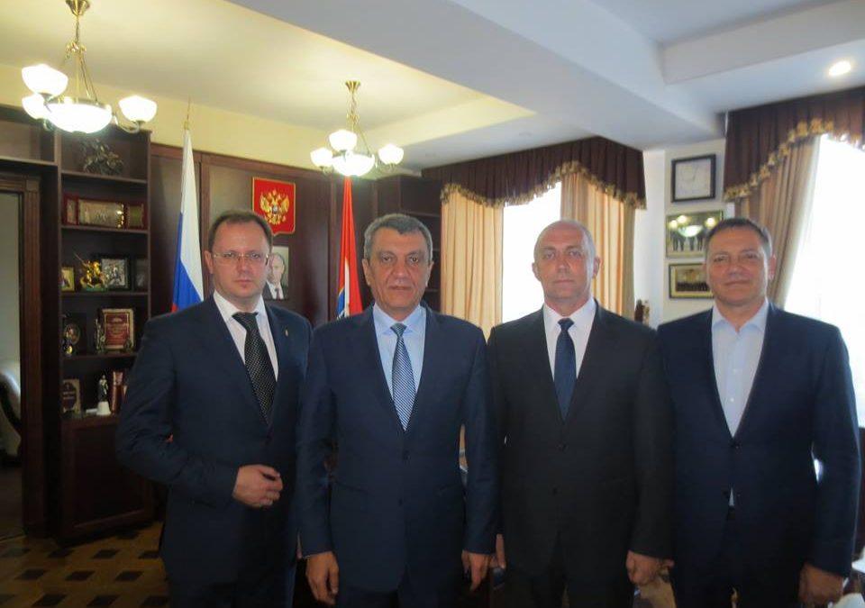 Рабочая встреча с губернатором Севастополя