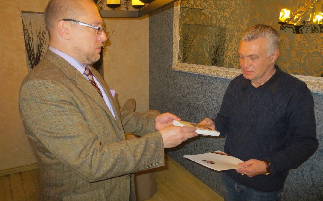 18 апреля состоялось рабочее совещание Александра Закатова с В.Пилькевичем и И.Дубоделовым