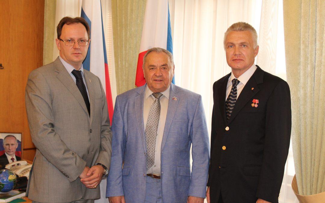 13 июня состоялась рабочая встреча с первым заместителем Председателя Государственного Совета Республики Крым