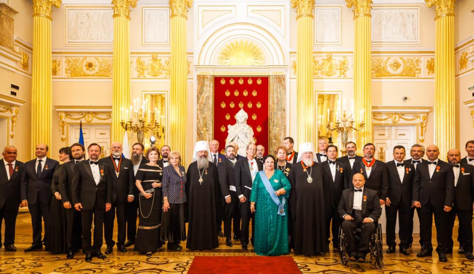 Визит на Родину Главы Дома Романовых и ее наследника по приглашению Всемирного Русского Народного Собора и торжественные церемонии 21 ноября 2019 года
